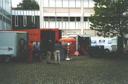 Ausstellung im Aussenbereich
